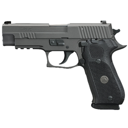 "Sig Sauer 220R45LEGION P220 Full Size Legion Single/Double 45 Automatic Colt Pistol (ACP) 4.4"" 8+1 Black G10 Grip Gray Stainless Steel"